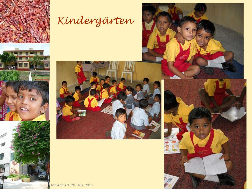Kindergärten Indientreff 28. Juli 2011