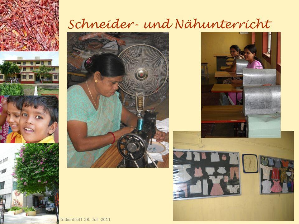 Schneider- und Nähunterricht