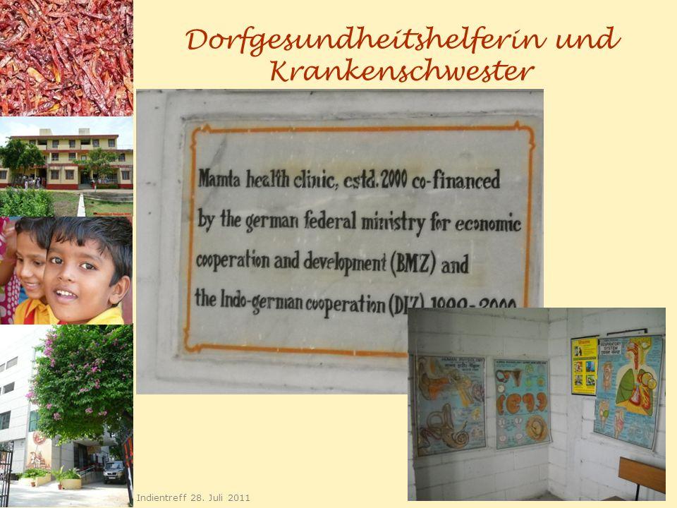 Dorfgesundheitshelferin und Krankenschwester