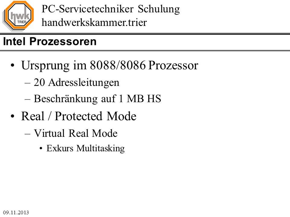 Ursprung im 8088/8086 Prozessor