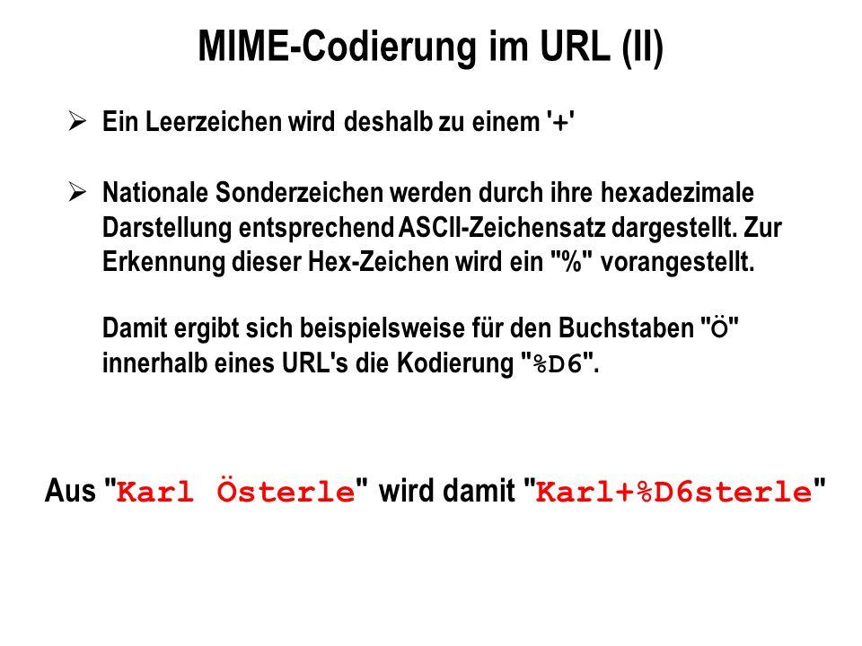 MIME-Codierung im URL (II)
