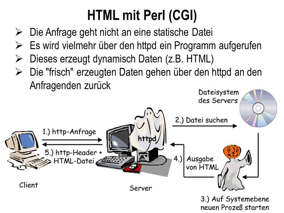 HTML mit Perl (CGI) Die Anfrage geht nicht an eine statische Datei