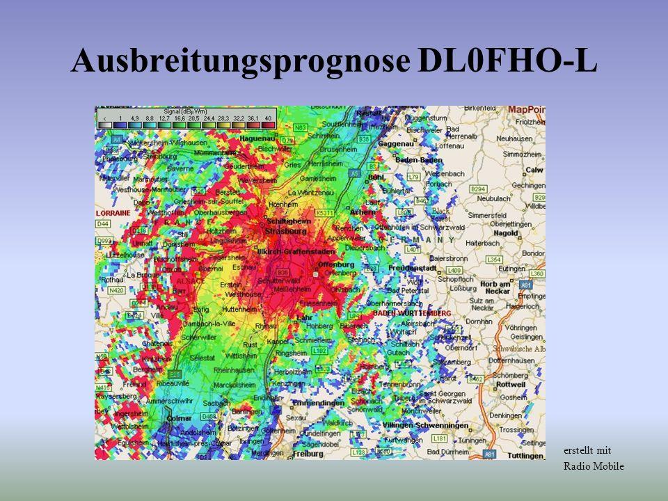 Ausbreitungsprognose DL0FHO-L