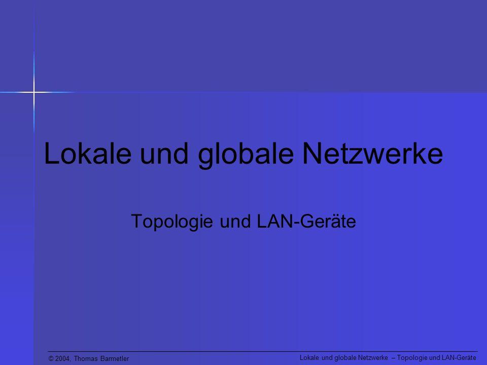 Lokale und globale Netzwerke