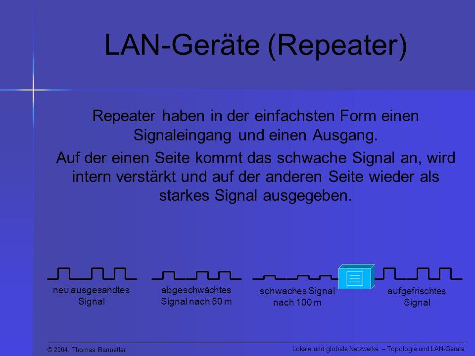 LAN-Geräte (Repeater)