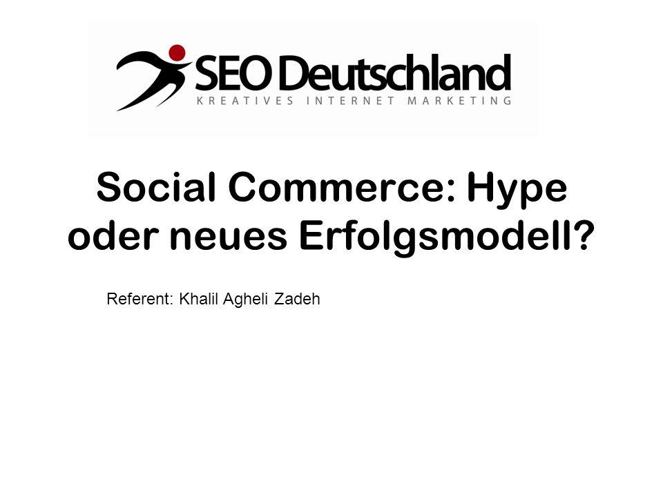 Social Commerce: Hype oder neues Erfolgsmodell