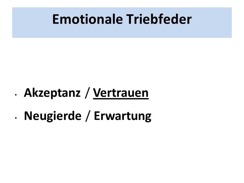 Emotionale Triebfeder
