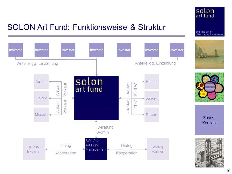 SOLON Art Fund: Funktionsweise & Struktur