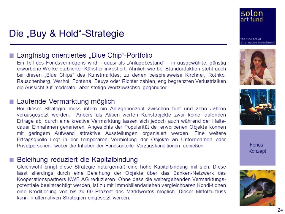 "Die ""Buy & Hold -Strategie"