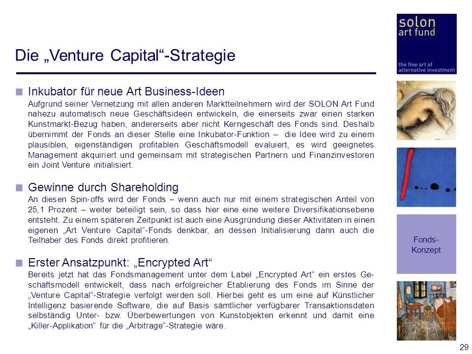 """Die """"Venture Capital -Strategie"""