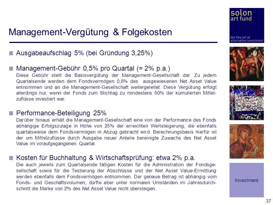 Management-Vergütung & Folgekosten