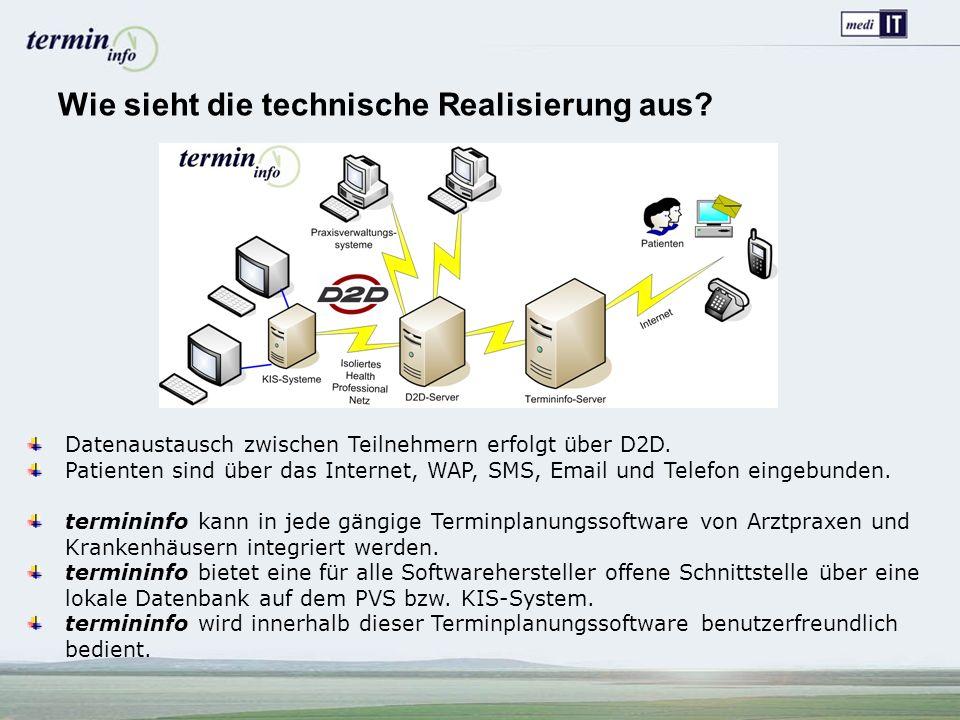 Wie sieht die technische Realisierung aus