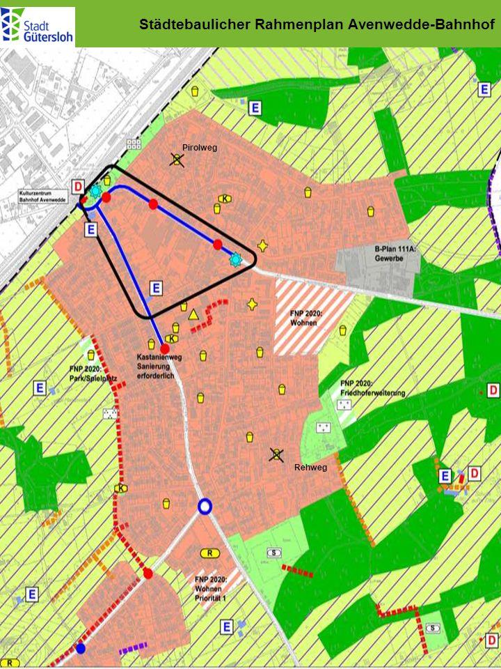 Städtebaulicher Rahmenplan Avenwedde-Bahnhof