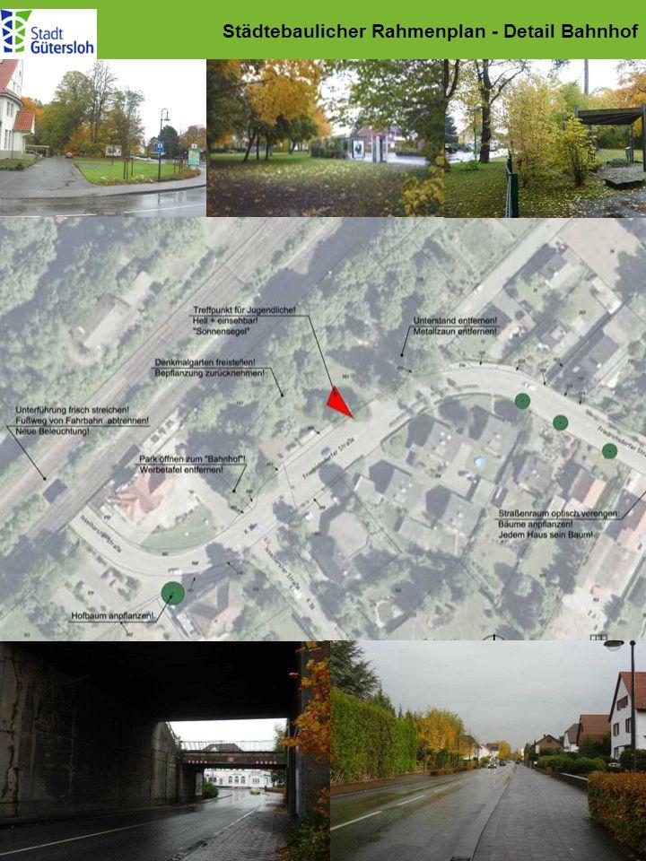 Städtebaulicher Rahmenplan - Detail Bahnhof