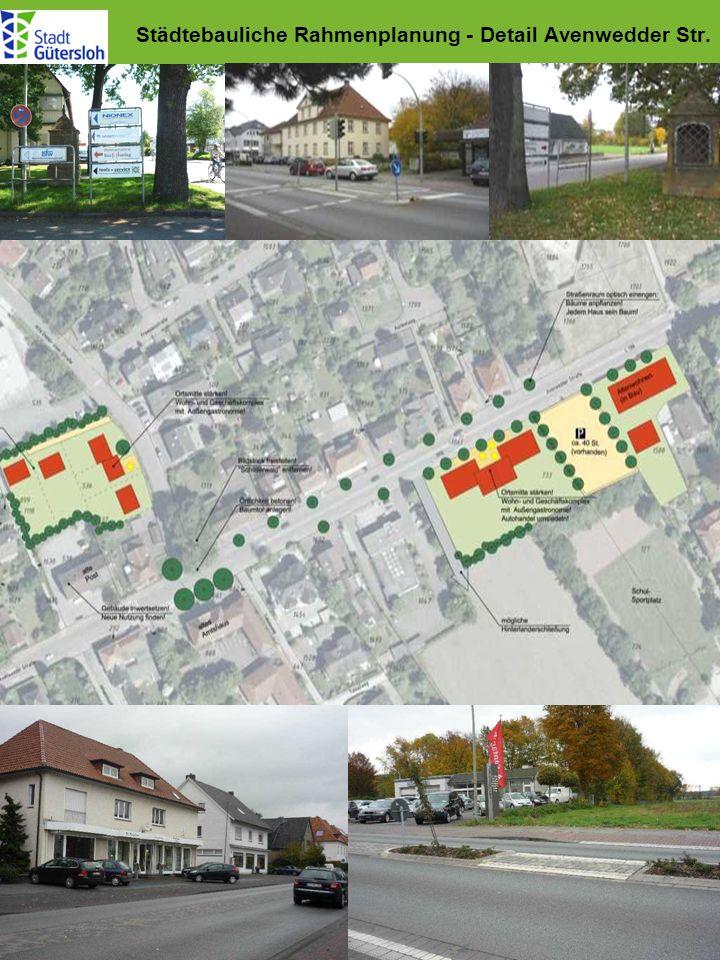 Städtebauliche Rahmenplanung - Detail Avenwedder Str.