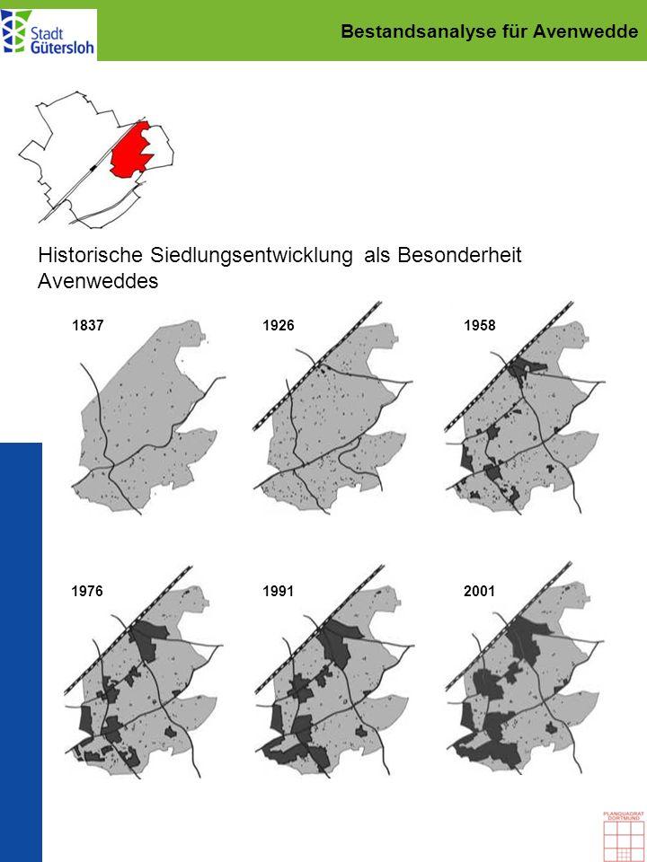 Bestandsanalyse für Avenwedde