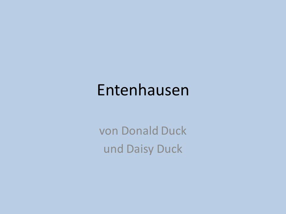 von Donald Duck und Daisy Duck