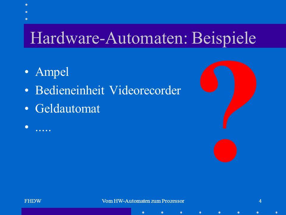 Hardware-Automaten: Beispiele
