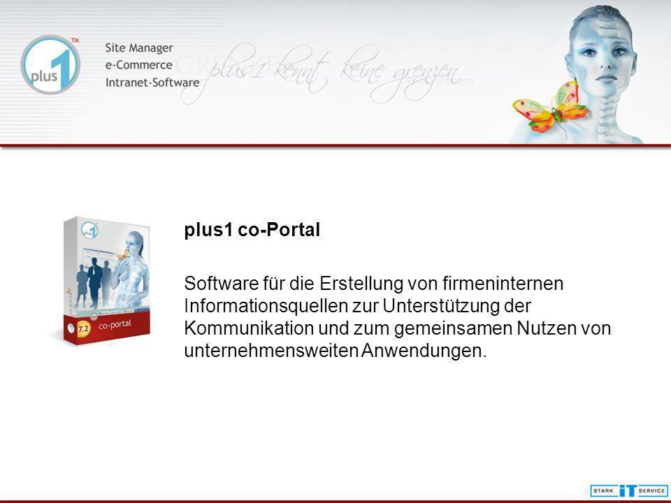 plus1 co-Portal