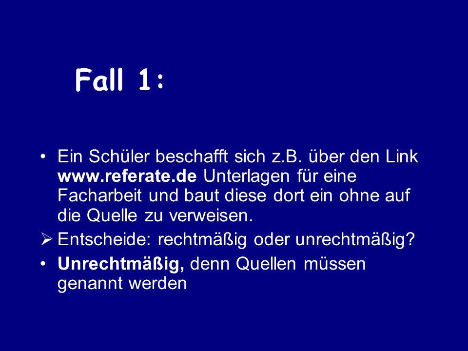 Fall 1: