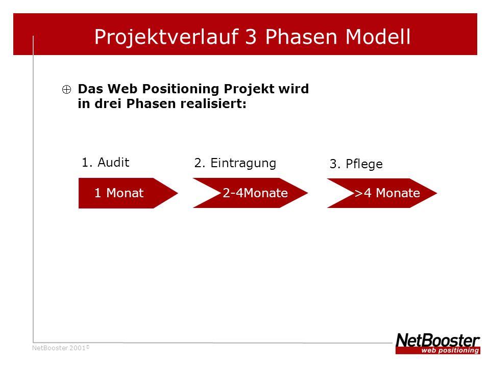 Projektverlauf 3 Phasen Modell