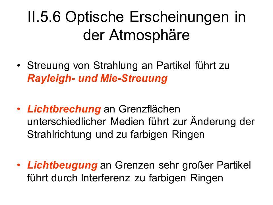 II.5.6 Optische Erscheinungen in der Atmosphäre