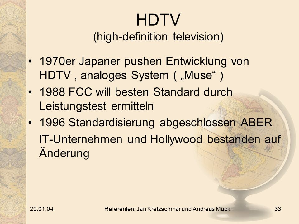 HDTV (high-definition television)