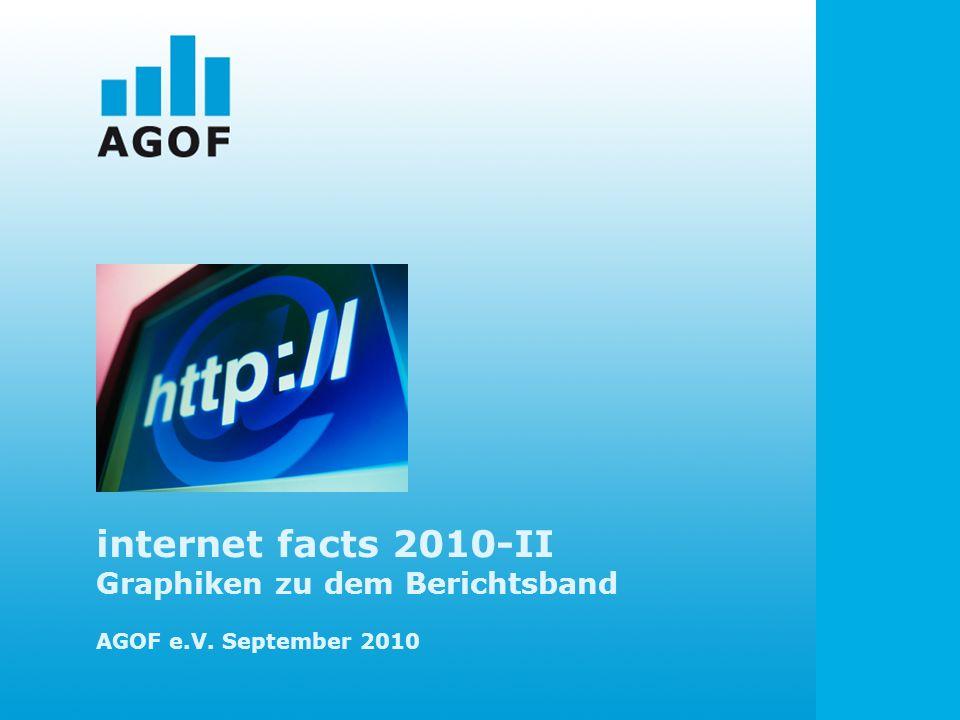 internet facts 2010-II Graphiken zu dem Berichtsband