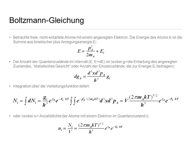 Boltzmann-Gleichung