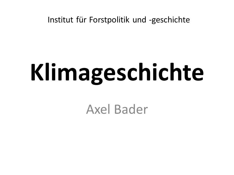 Institut für Forstpolitik und -geschichte