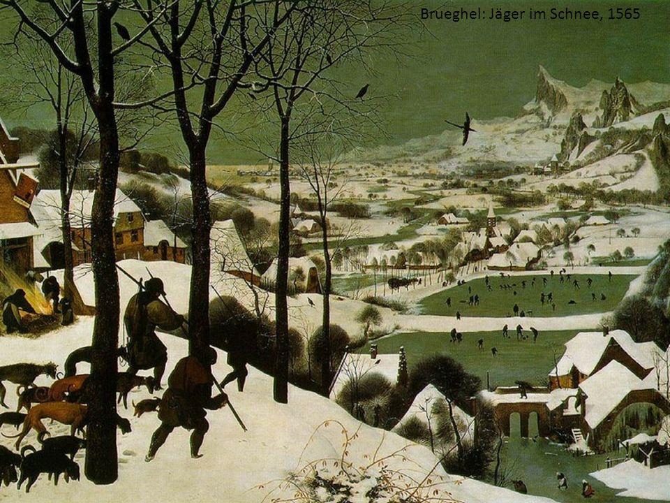 Brueghel: Jäger im Schnee, 1565