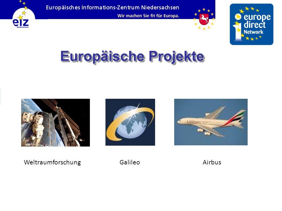 Europäische Projekte Weltraumforschung Galileo Airbus 24 24