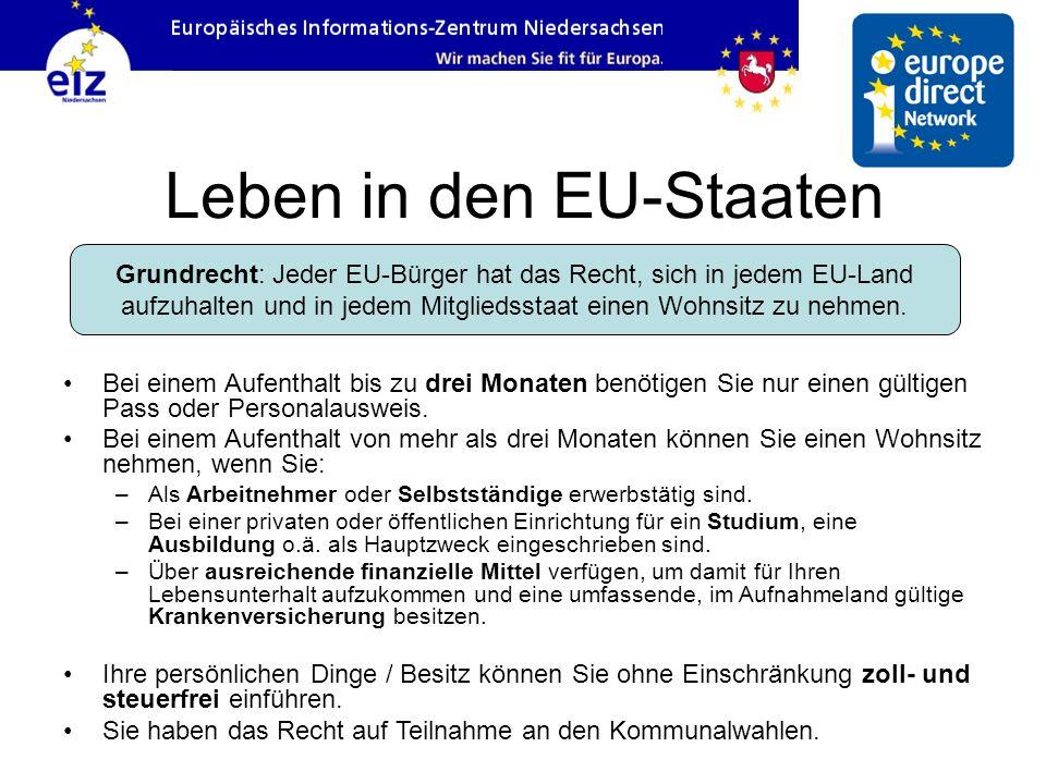 Leben in den EU-Staaten