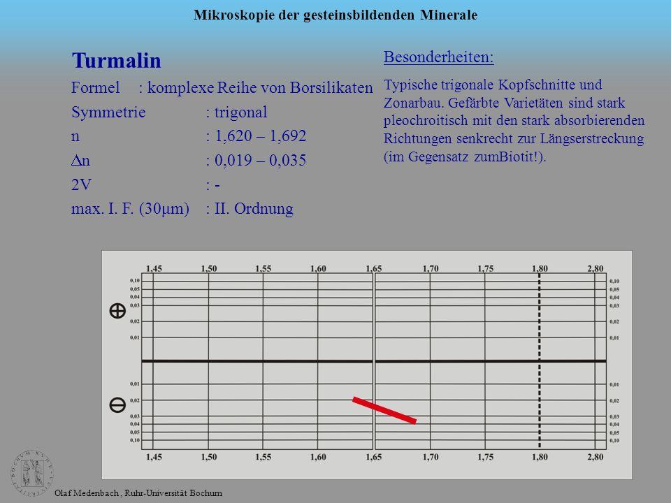 Turmalin Besonderheiten: Formel : komplexe Reihe von Borsilikaten