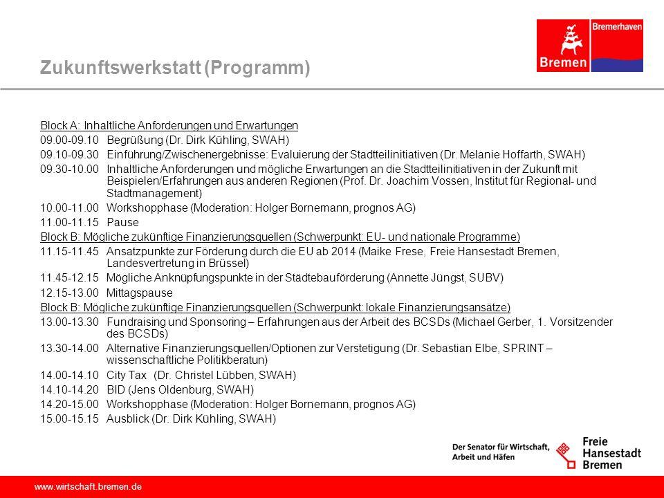 Zukunftswerkstatt (Programm)