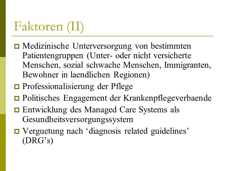 Faktoren (II)