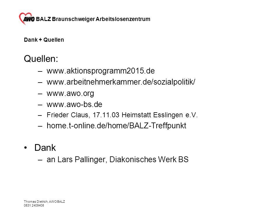 Quellen: Dank www.aktionsprogramm2015.de