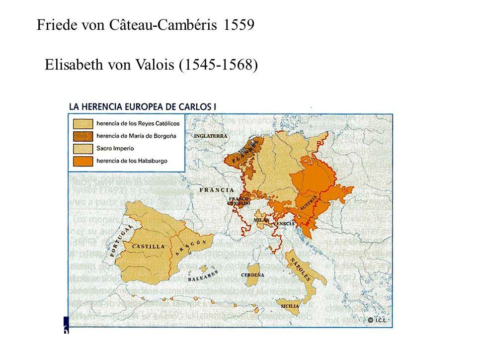 Friede von Câteau-Cambéris 1559