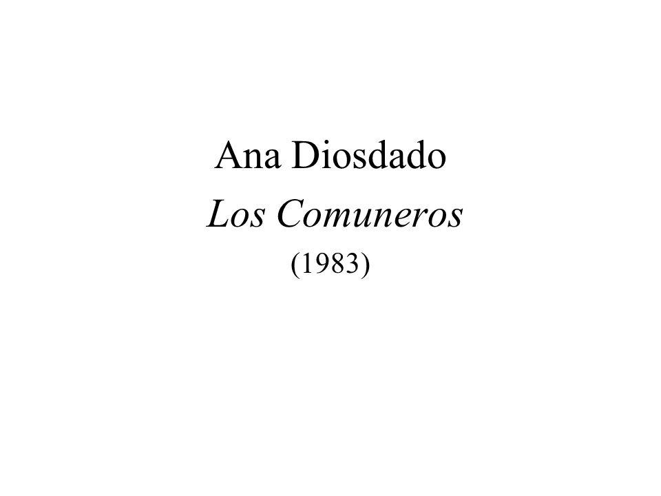 Ana Diosdado Los Comuneros (1983)