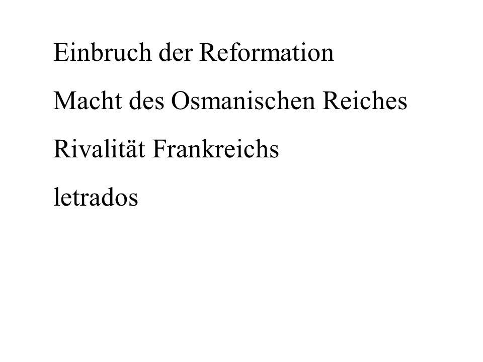 Einbruch der Reformation