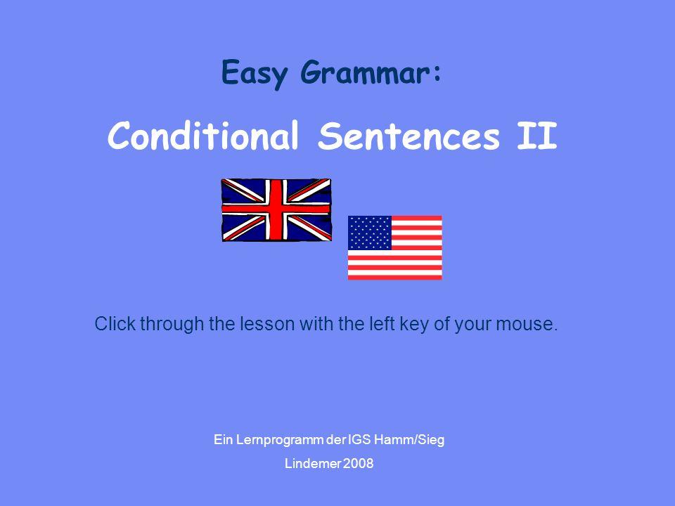 Conditional Sentences II