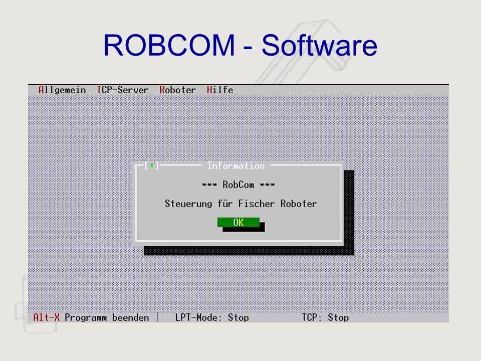 ROBCOM - Software
