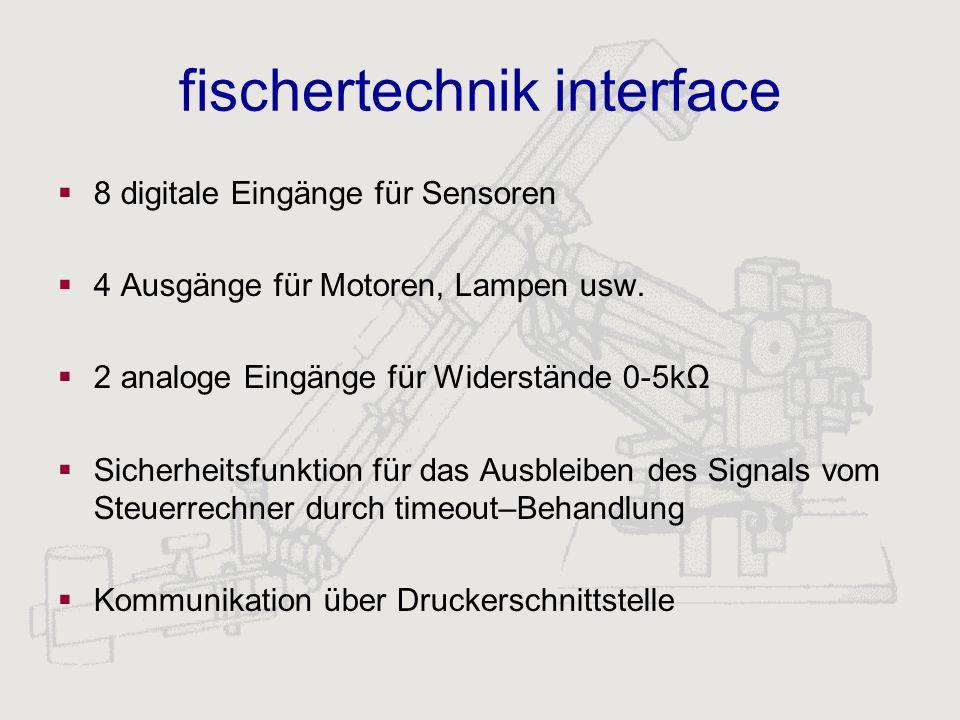 fischertechnik interface