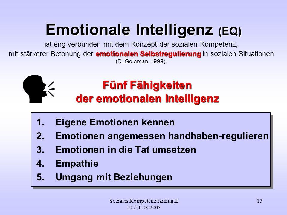 Emotionale Intelligenz (EQ)