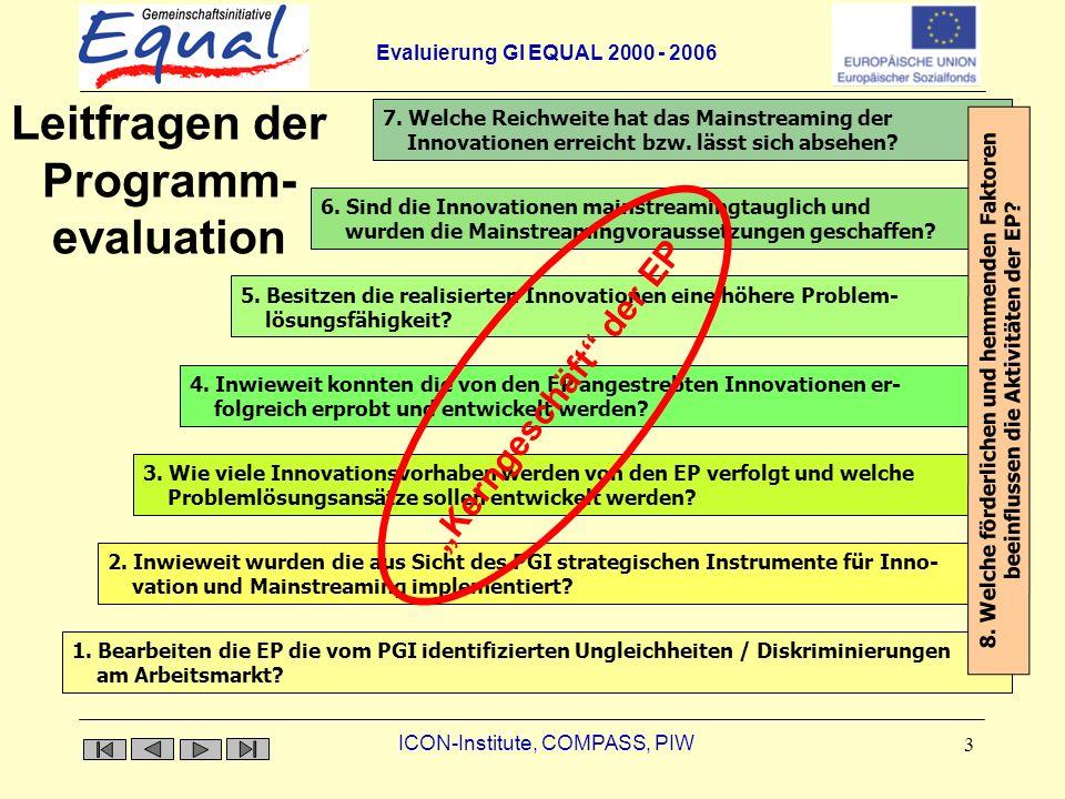 Leitfragen der Programm-evaluation