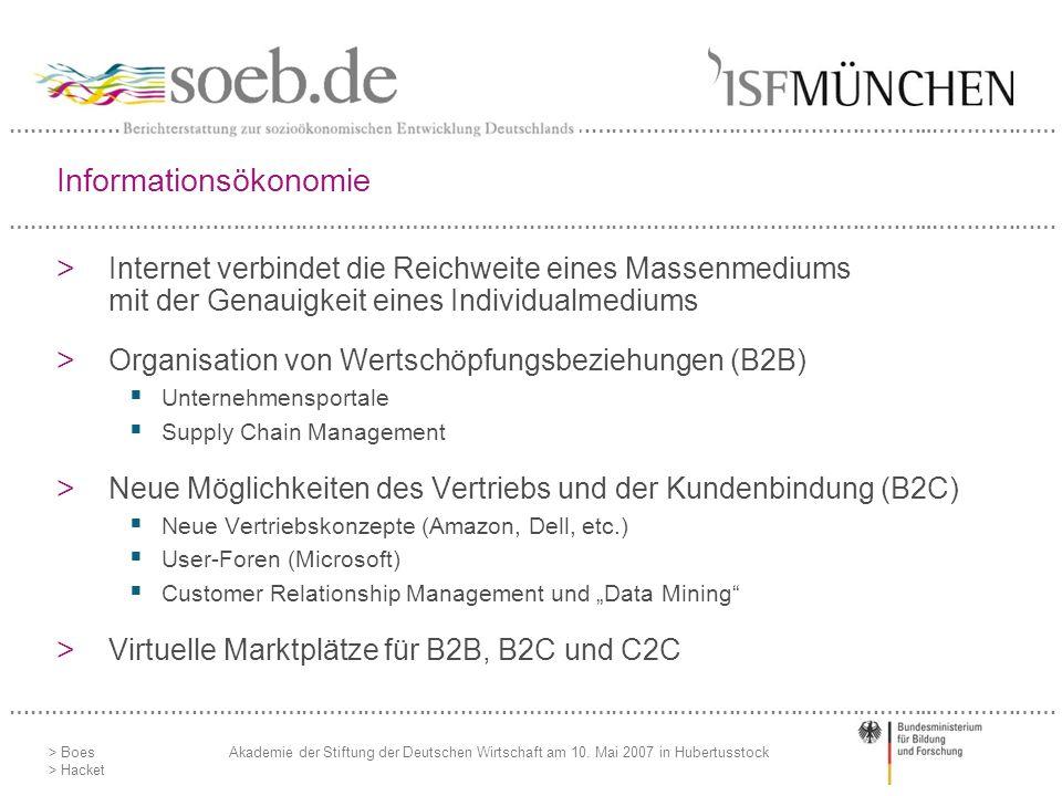 Informationsökonomie