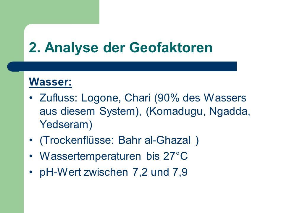 2. Analyse der Geofaktoren