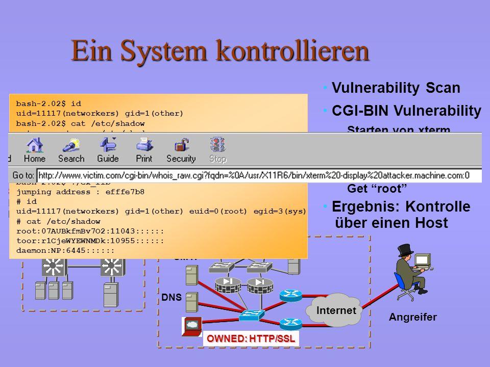 Ein System kontrollieren