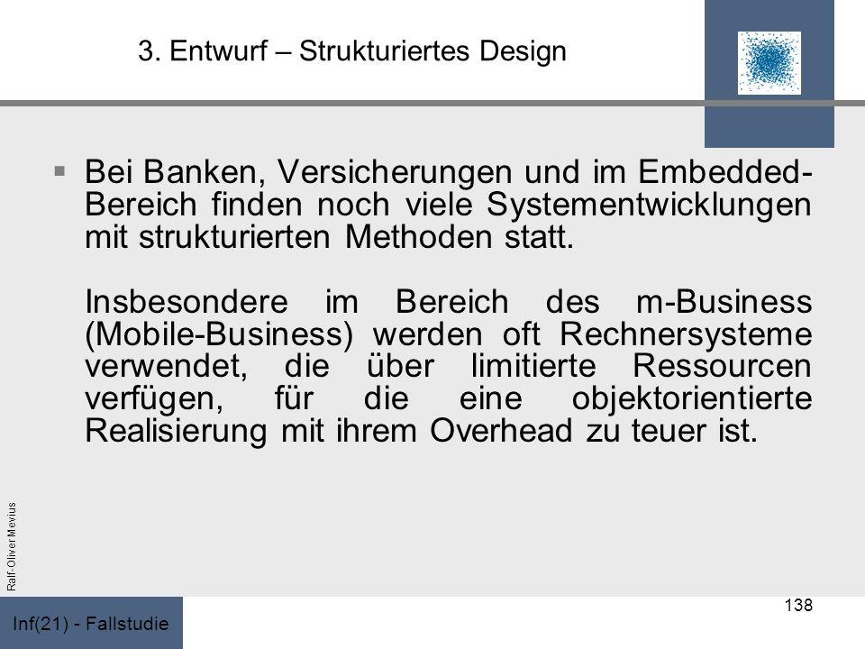 3. Entwurf – Strukturiertes Design