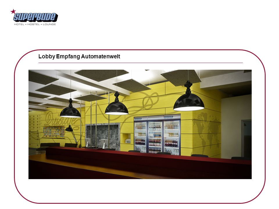 Lobby Empfang Automatenwelt